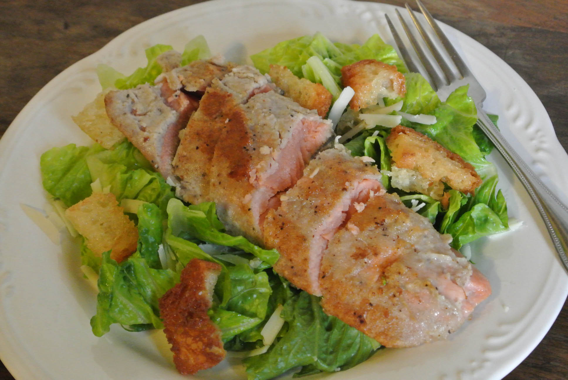Southwestern caesar salad for Fish and salad