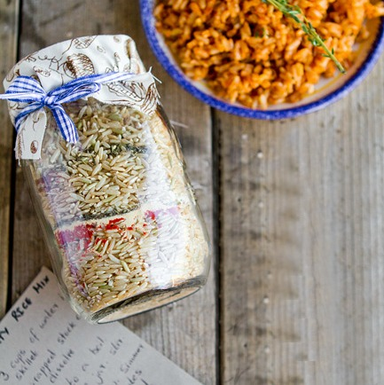 Cajun Dirty Rice Gift Idea from Veggie Belly