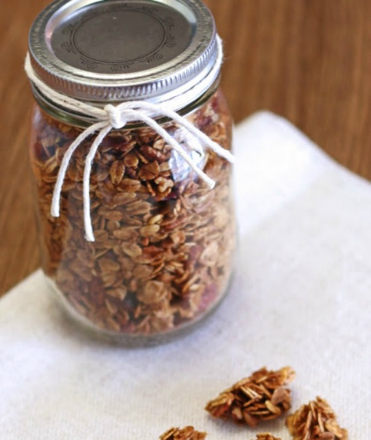 Gingerbread Granola from Sarah Bakes Gfree