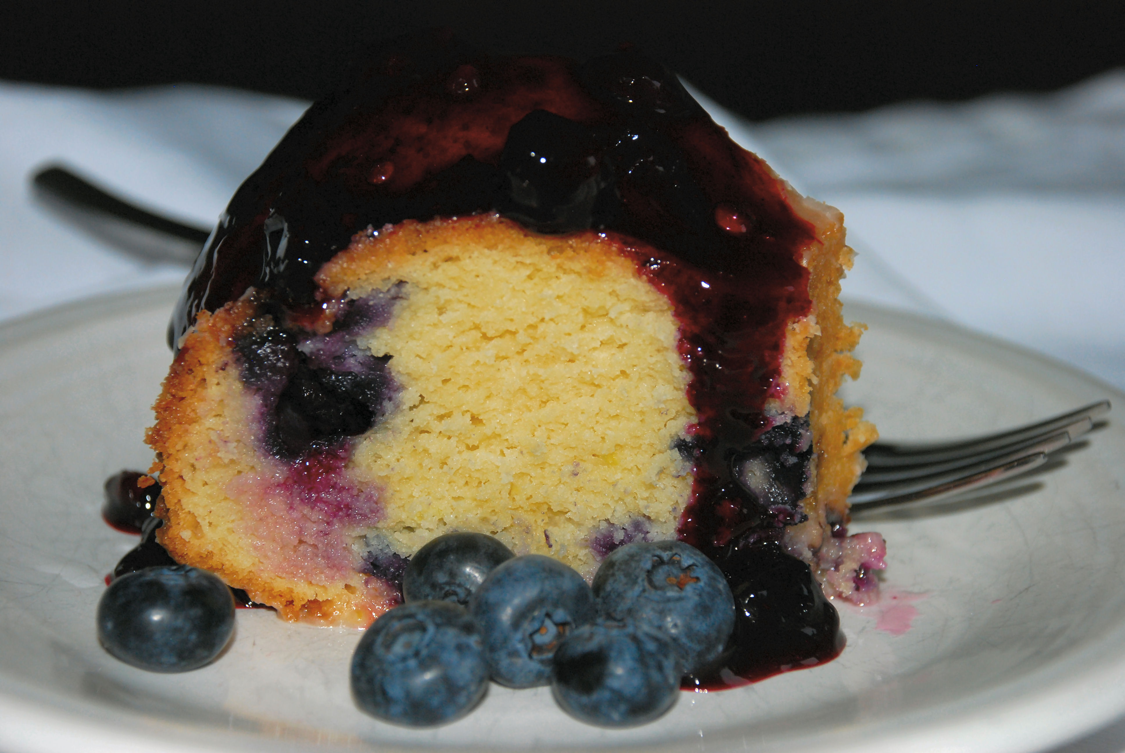 Blueberry Lemon Bundt Cake Yellow Cake Mix