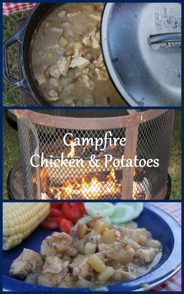 Campfire Chicken and Potatoes