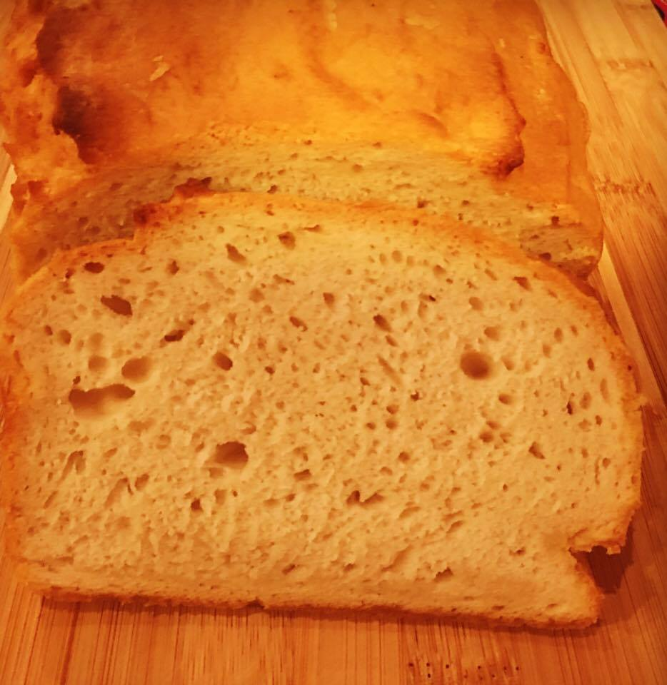 Naomi's updated Favorite White Bread Yeast Free