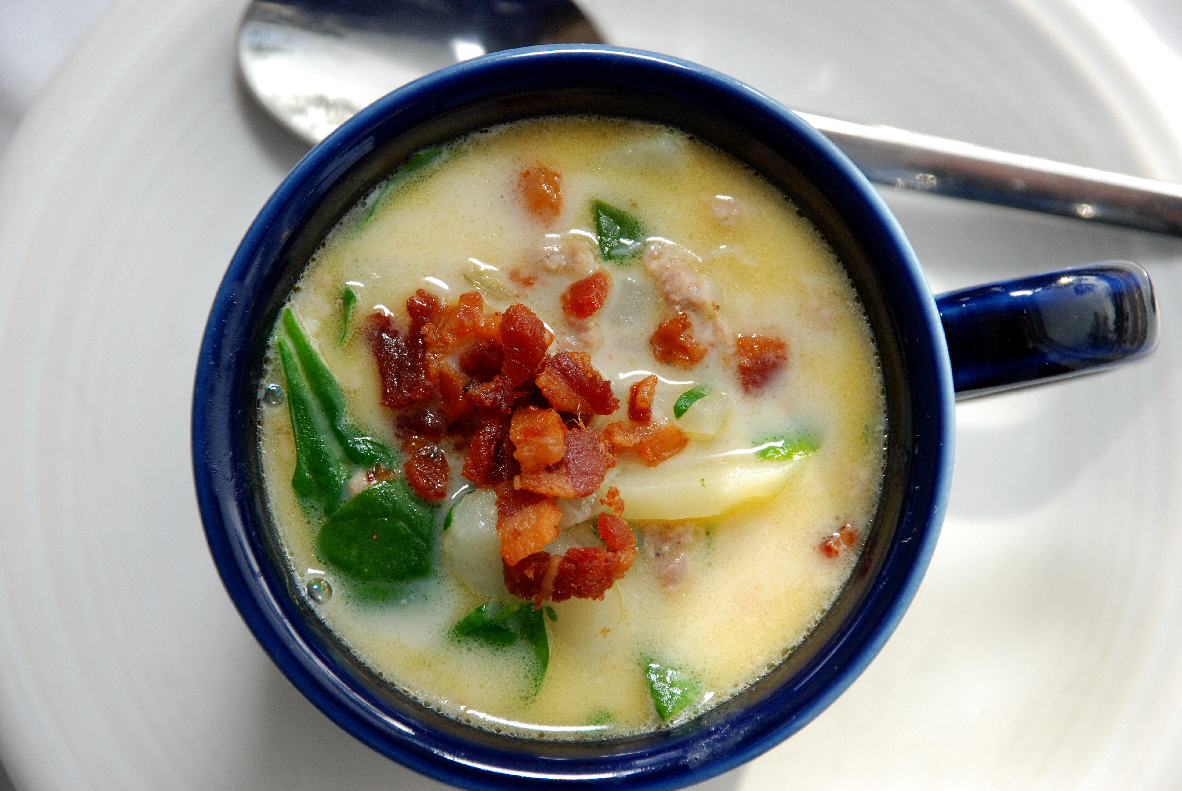 Lighter Zuppa Toscana Soup