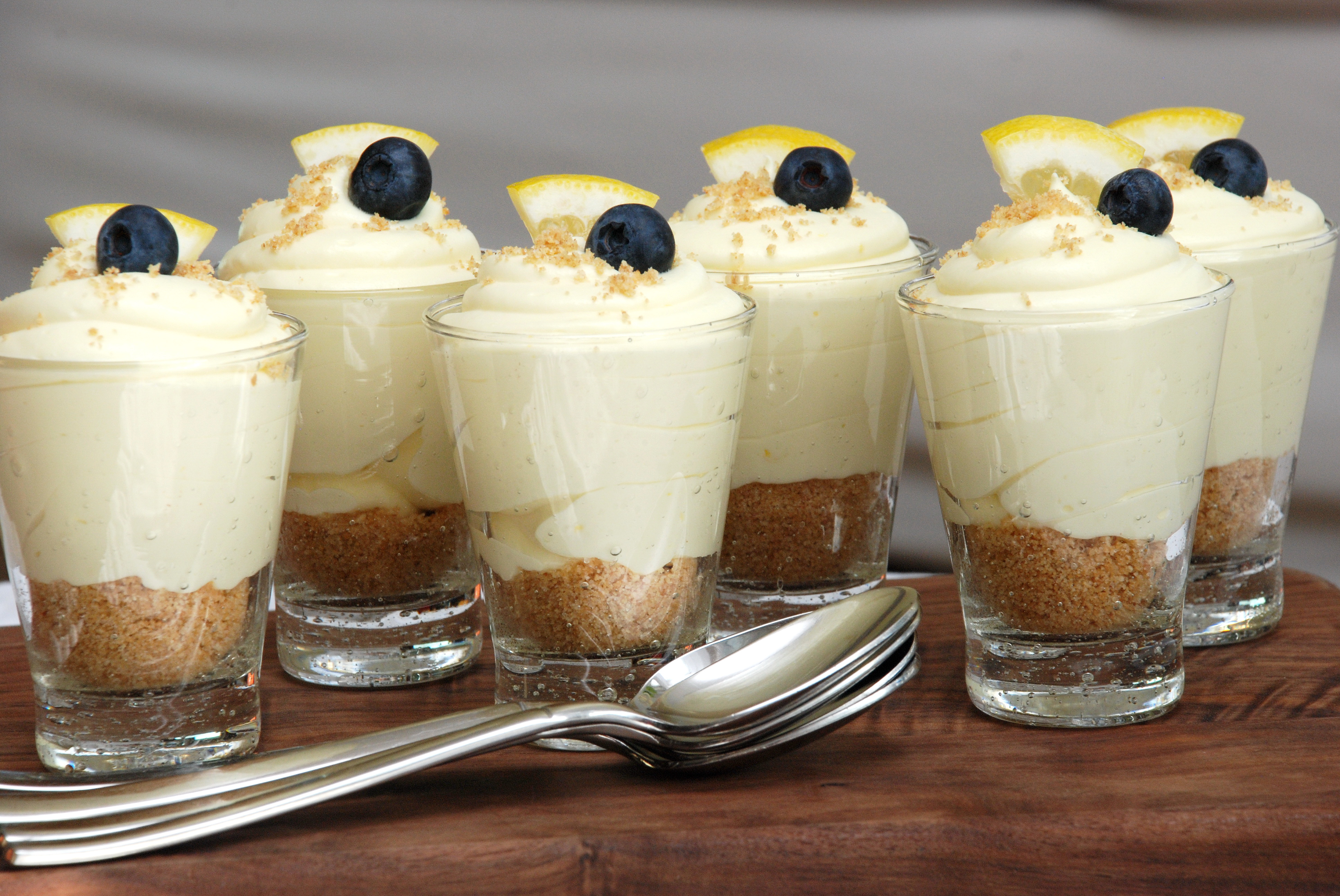 Lemon Cheesecake Mousse