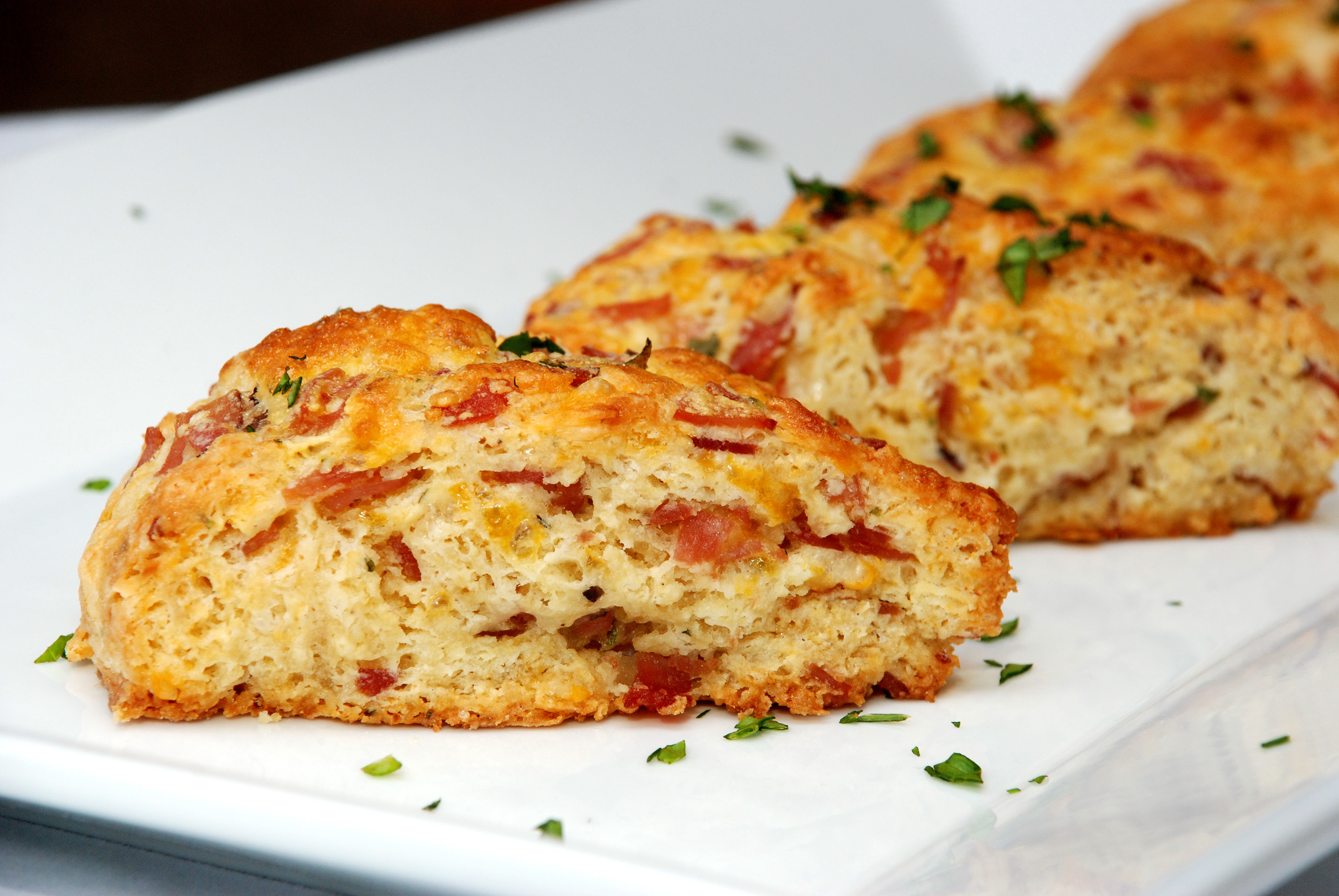 Ham and Cheese Scones