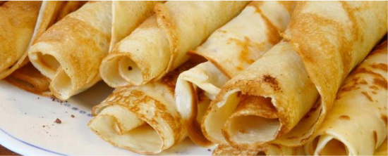 Basic Crepes | Better Batter Gluten Free Flour