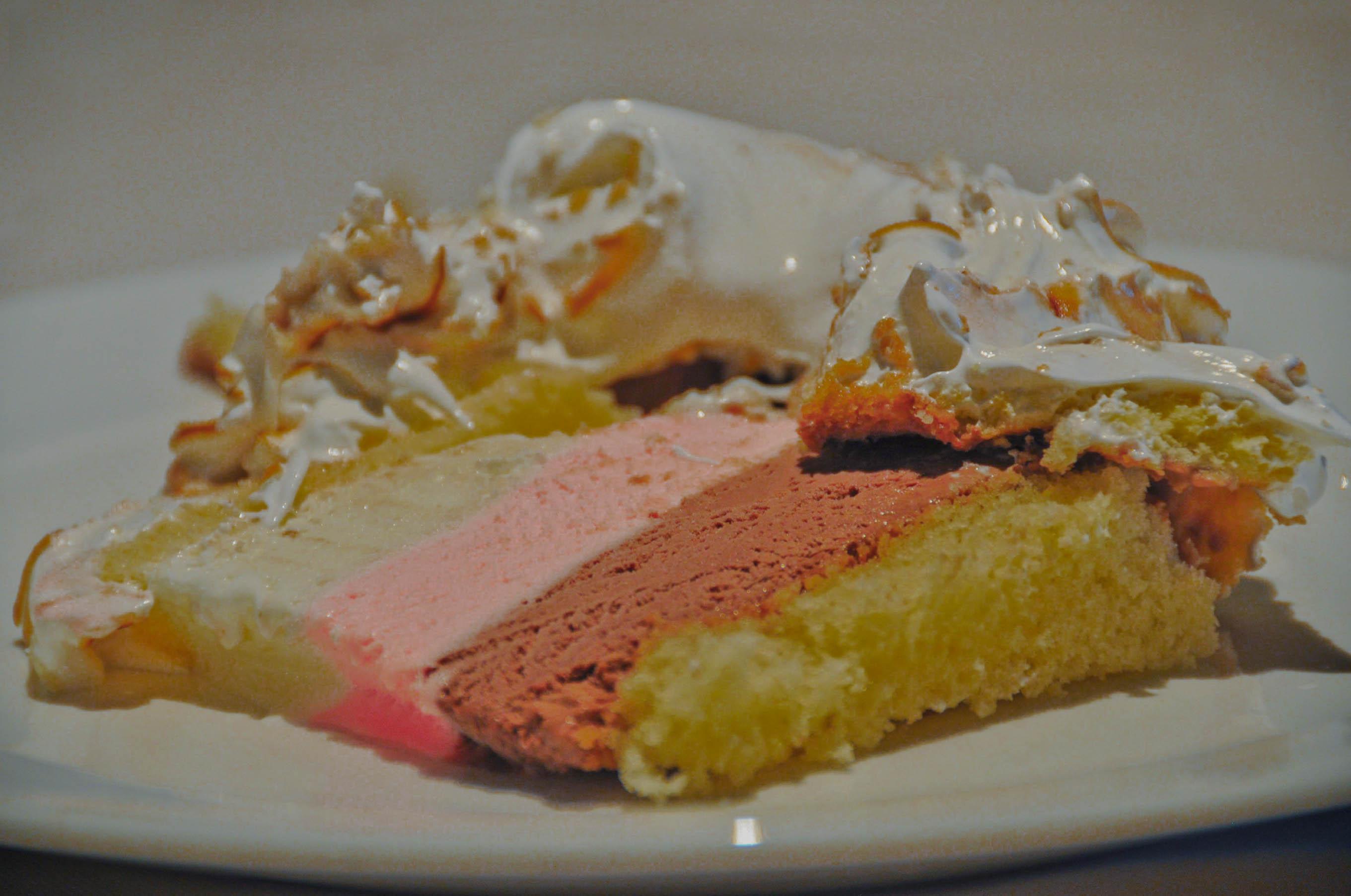 Baked Alaska With Cake Mix