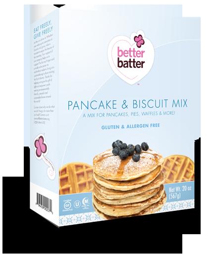 Gluten Free Pancake & Biscuit Mix
