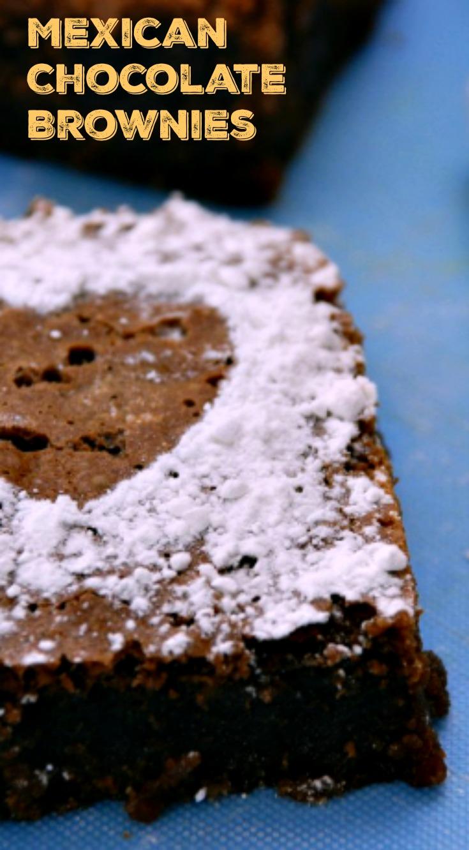 Mexican Chocolate Brownies - Better Batter Gluten Free Flour
