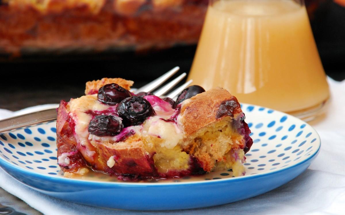 Lemon Blueberry Baked French Toast - Better Batter Gluten ...