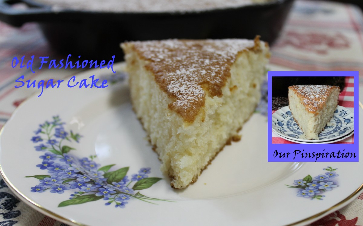 Old Fashioned Sugar Cake Featured Image