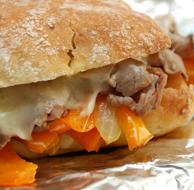 Campfire Philly Cheesecake Sandwiches Better Batter