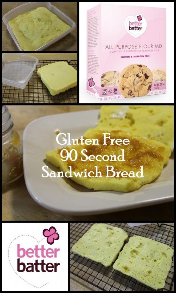 90 Second Sandwich Bread
