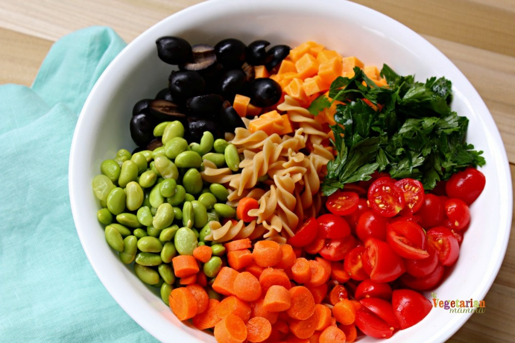 Kid Friendly Pasta Salad @Vegetarianmamma.com - BTS Lunch