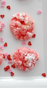 valentines cake mix cookies small