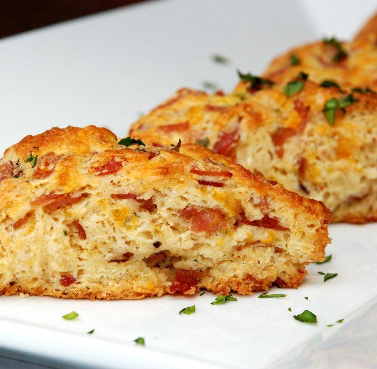 Ham and Cheese Scones - Better Batter Gluten Free Flour