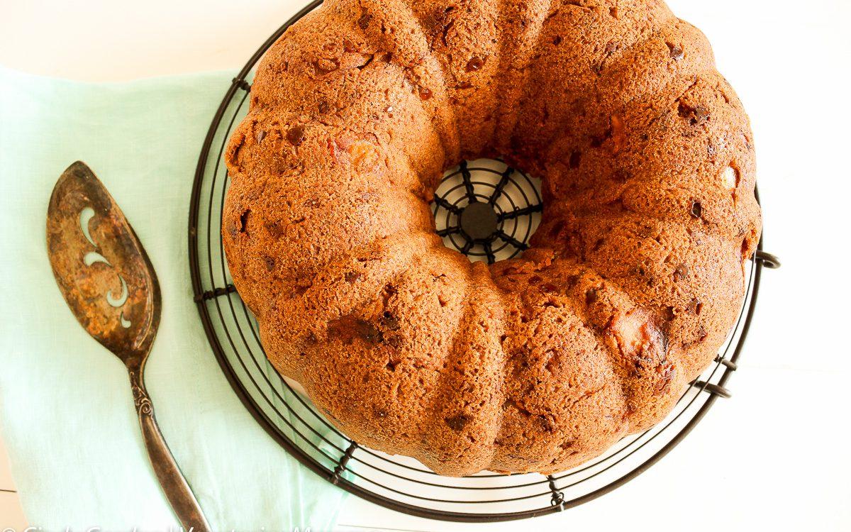 Easy Apple Cake @Vegetarianmamma.com Gluten Free Cake
