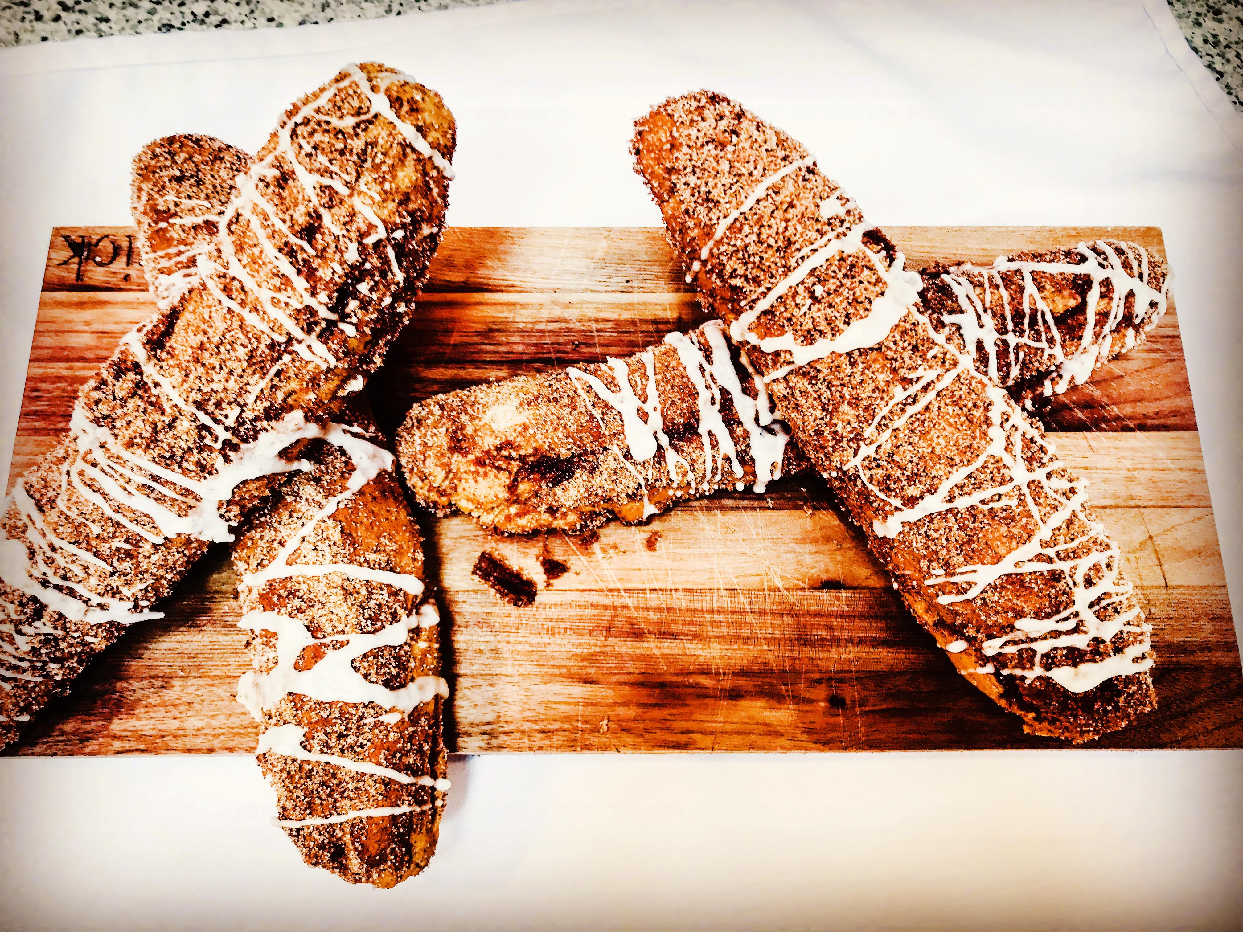 Patrick's Cinnamon Soft Pretzel/Breadsticks