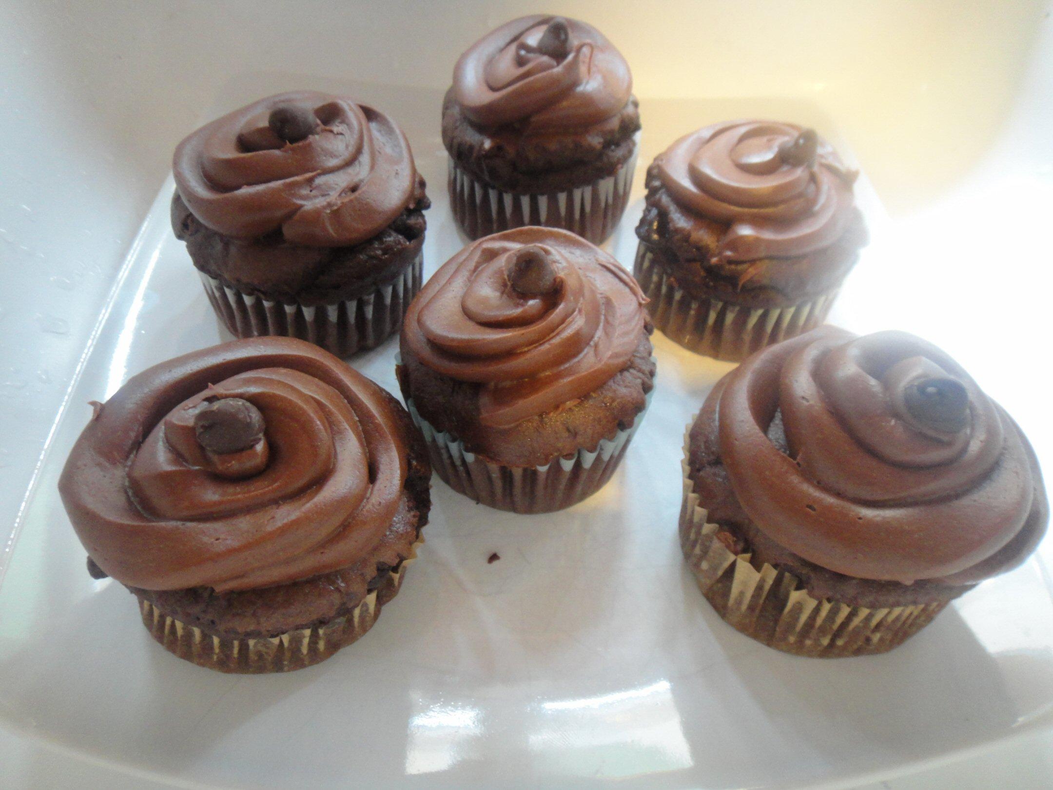 double chocolate chip cupcakes - Better Batter Gluten Free Flour