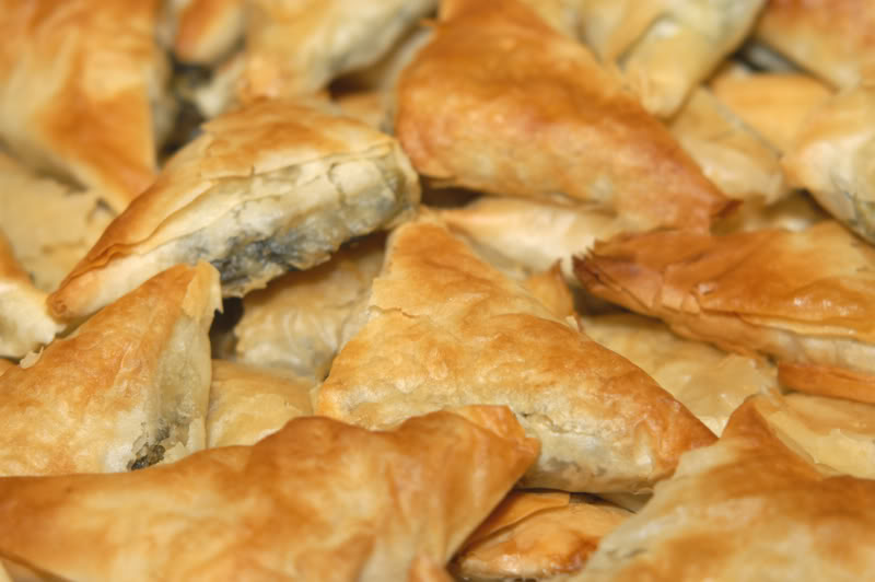 Potato and Cheese Filled Appetizer Triangles – Bourekas